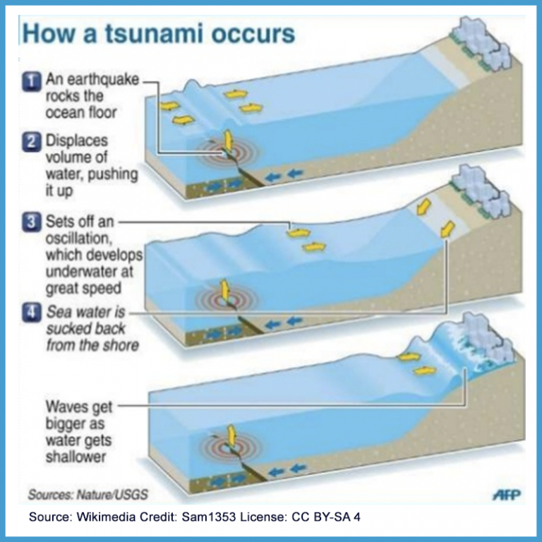 an analysis of the characteristics of the tsunami a series of tidal waves A tsunami (from japanese: 津波, harbour wave english pronunciation: / t s uː ˈ n ɑː m i / tsoo-nah-mee) or tidal wave, also known as a seismic sea wave, is a series of waves in a water body caused by the displacement of a large volume of water, generally in an ocean or a large lake.